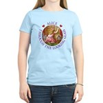 Alice Through The Looking Glass Women's Light T-Sh