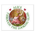Alice Through The Looking Glass Small Poster