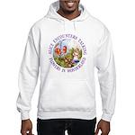 Alice Encounters Talking Flowers Hooded Sweatshirt