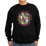 Alice and the White Knight Sweatshirt (dark)