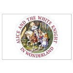 Alice and the White Knight Large Poster