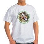 Alice and the White Knight Light T-Shirt
