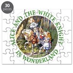 Alice and the White Knight Puzzle