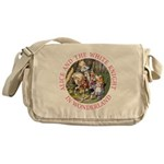 Alice and the White Knight Messenger Bag