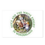 Alice and the White Knight Postcards (Package of 8