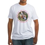 Alice and the White Knight Fitted T-Shirt