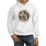 Alice and the White Knight Hooded Sweatshirt
