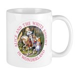 Alice and the White Knight Mug
