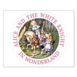 Alice and the White Knight Small Poster