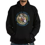 Alice and the White Knight Hoodie (dark)