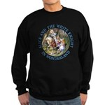 Alice and the White Knight Sweatshirt (dark)