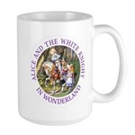 Alice and the White Knight Large Mug