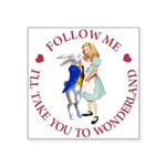 Follow Me - I'll Take You to Wonderland Square Sti