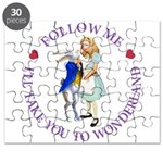 Follow Me - I'll Take You to Wonderland Puzzle