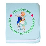 Follow Me - I'll Take You to Wonderland baby blank
