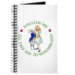 Follow Me - I'll Take You to Wonderland Journal