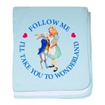 Follow Me - I'll Take You to Wonderland baby blank