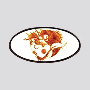 Yin Yang Dragon Fire Patches