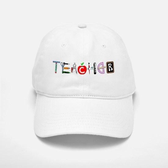 Teacher Baseball Baseball Cap