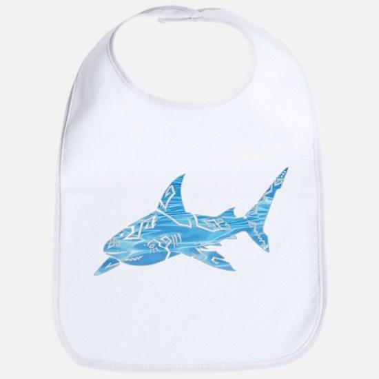 Great White Shark Grey Bib
