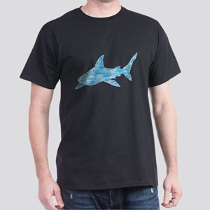 Great White Shark Grey Dark T-Shirt