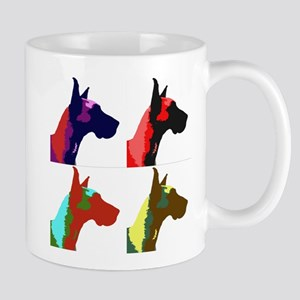 Great Dane Pop Art Mug