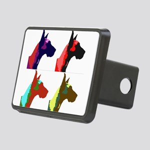 Great Dane Pop Art Rectangular Hitch Cover