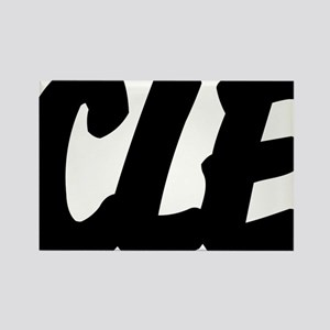 CLE Brushed Rectangle Magnet