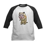 Grandma cat Kids Baseball Jersey