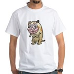 Grandma cat White T-Shirt