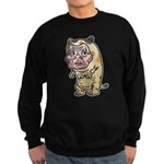 Grandma cat Sweatshirt (dark)