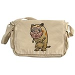 Grandma cat Messenger Bag
