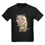 Grandma cat Kids Dark T-Shirt