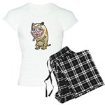 Grandma cat Women's Light Pajamas