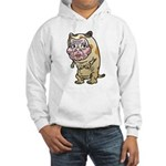 Grandma cat Hooded Sweatshirt