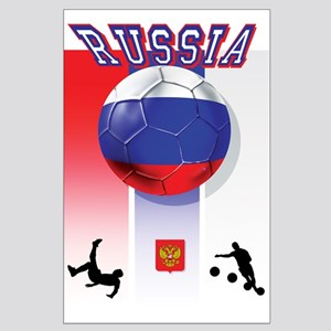 Russian Football Large Poster