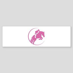 Horse Jumping Sticker (Bumper)