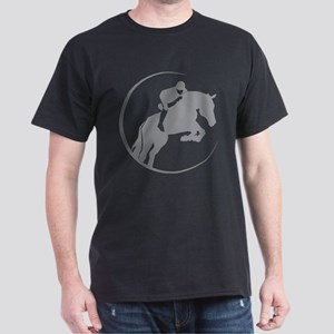Horse Jumping Dark T-Shirt