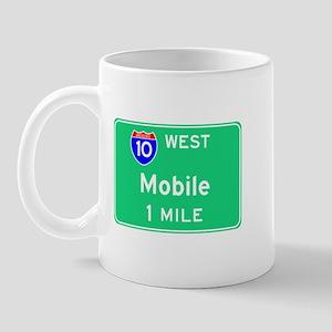 Mobile Exit Sign Mug