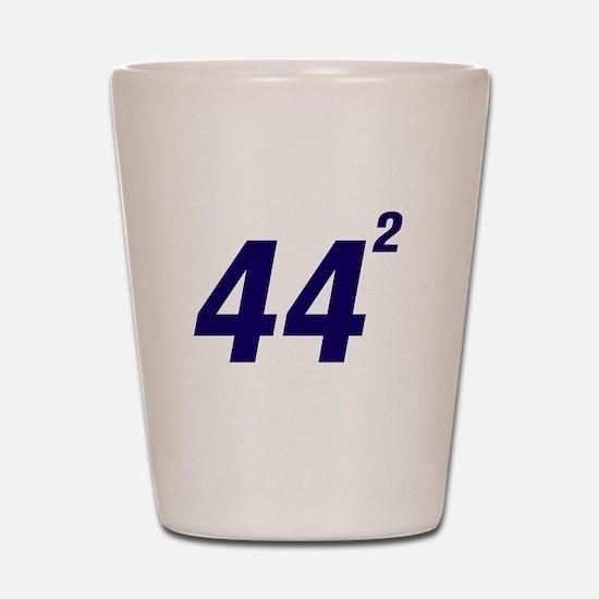Obama 44 Squared Shot Glass