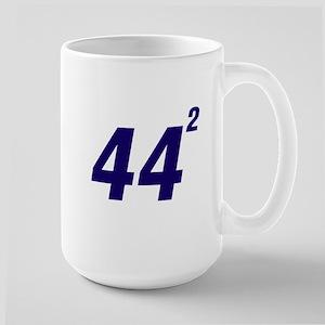 Obama 44 Squared Large Mug