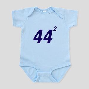 Obama 44 Squared Infant Bodysuit