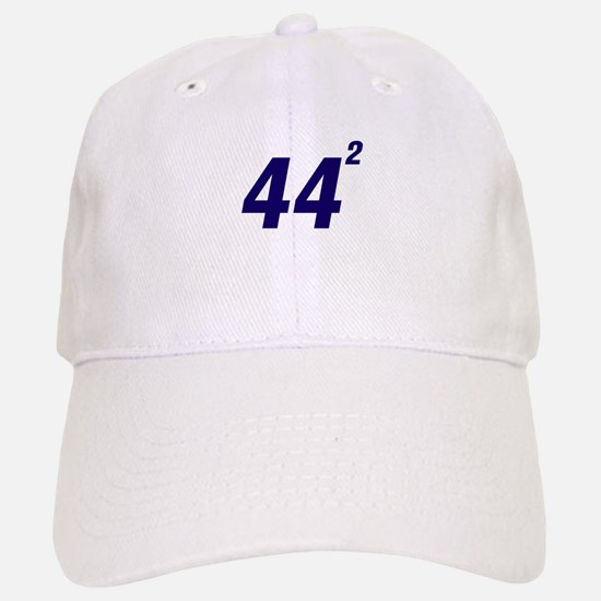 Obama 44 Squared Baseball Baseball Cap