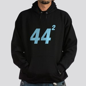 Obama 44 Squared Hoodie (dark)