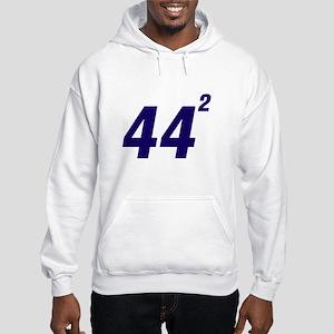 Obama 44 Squared Hooded Sweatshirt