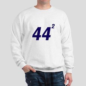 Obama 44 Squared Sweatshirt