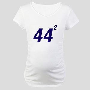 Obama 44 Squared Maternity T-Shirt