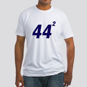 Obama 44 Squared Fitted T-Shirt