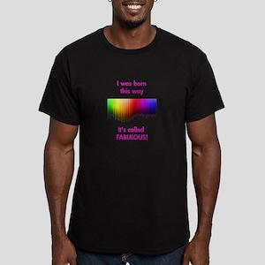 Gay Fabulous Men's Fitted T-Shirt (dark)