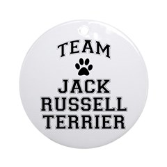 Team Jack Russell Terrier Ornament (Round)